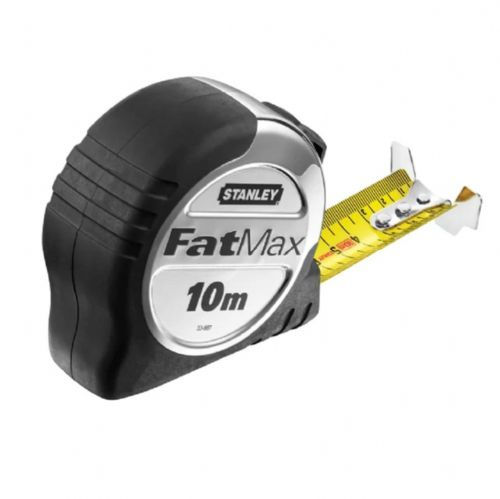Stanley 033897 Fatmax Pro Pocket Tape Measure Metric Only 10m (Width 32mm)